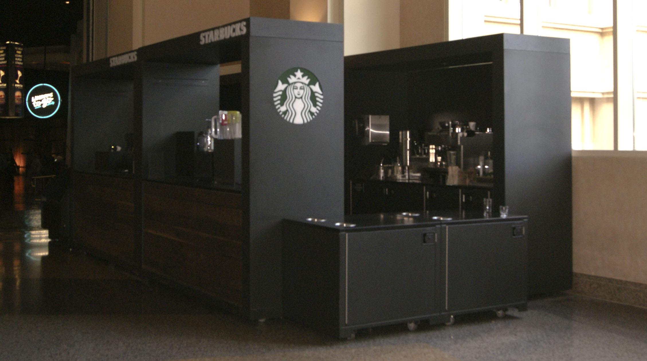 Coffee Kiosk- Starbucks inside Mandalay Bay – SCA Design