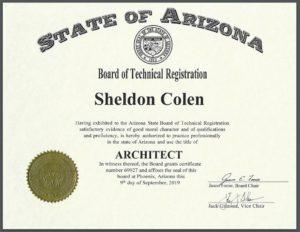 Arizona Architect Sheldon Colen